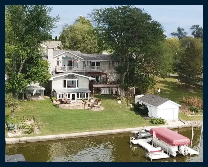 N4699 Lake Dr, Hustisford, WI 53034-9751 - #: 1919167