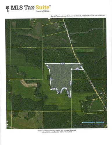 Photo of 25 acres Birchwood Rd, Wisconsin Dells, WI 53965 (MLS # 1916171)