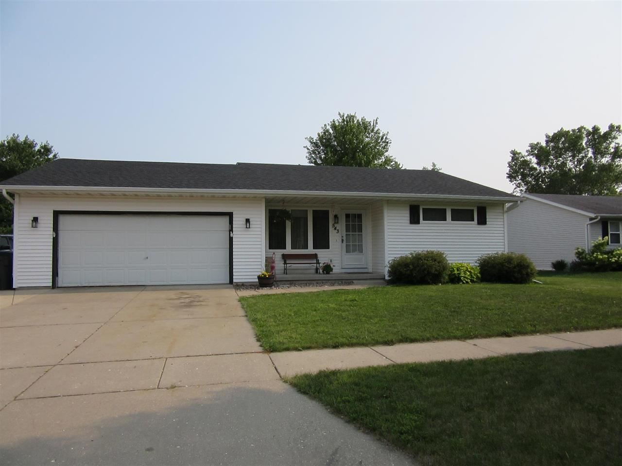 543 Countryside Dr, Evansville, WI 53536 - #: 1915201