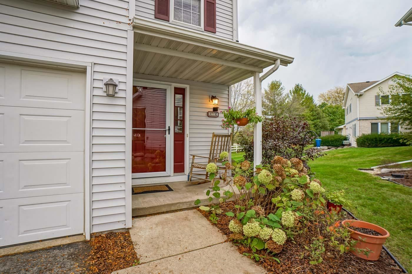 6145 DELL DR #4, Madison, WI 53718 - #: 1920222