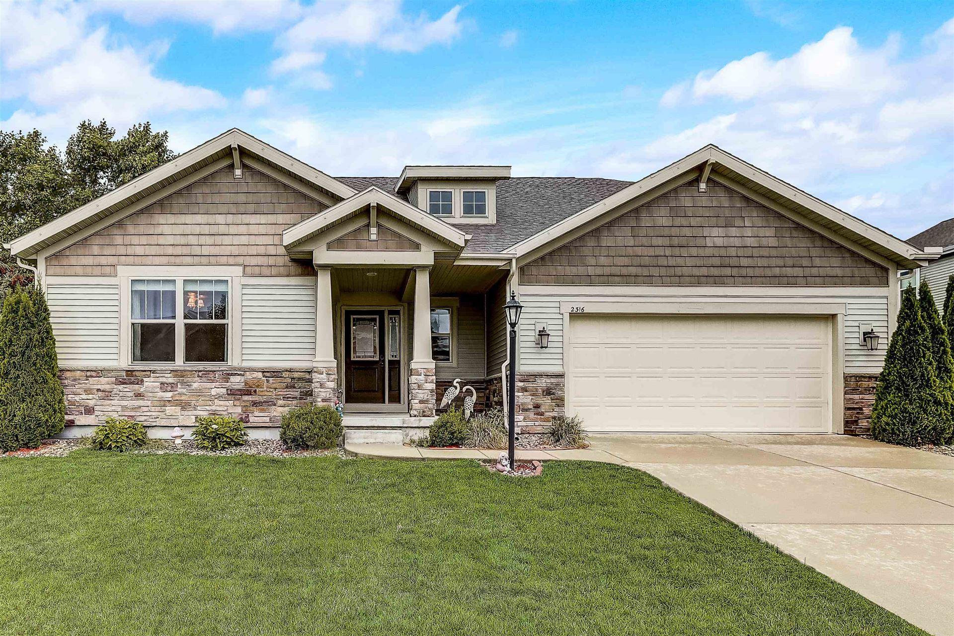 2316 Blue Heron Blvd, Sun Prairie, WI 53590 - #: 1919341