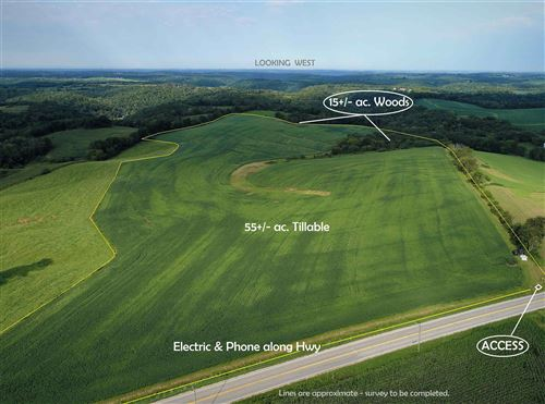 Photo of 70 +/- acres Hwy 27, Ferryville, WI 54628 (MLS # 1916479)