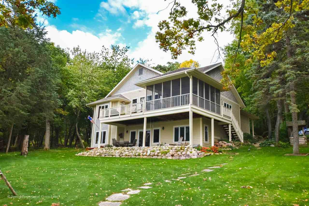 W2592 Oakwood Beach Rd, Markesan, WI 53946 - #: 1900538