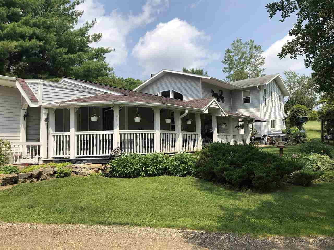43922 County Road S, Gays Mills, WI 54631 - #: 1917594
