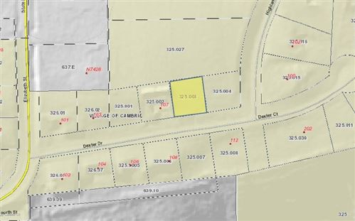 Photo of Lot 3 Dexter Ct, Cambria, WI 53923 (MLS # 1899697)