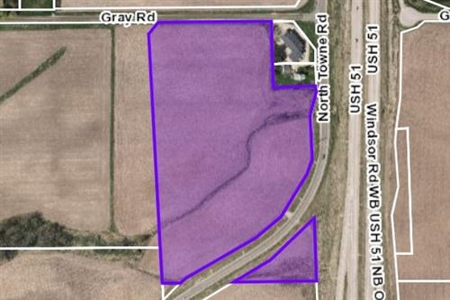 Photo of 19.66 Ac North Towne Rd/Gray Rd, Windsor, WI 53598 (MLS # 1886748)