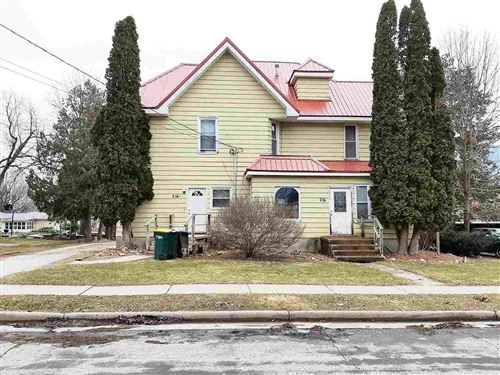 Photo of 216 & 216.5 S College Ave, Fox Lake, WI 53933 (MLS # 1879801)
