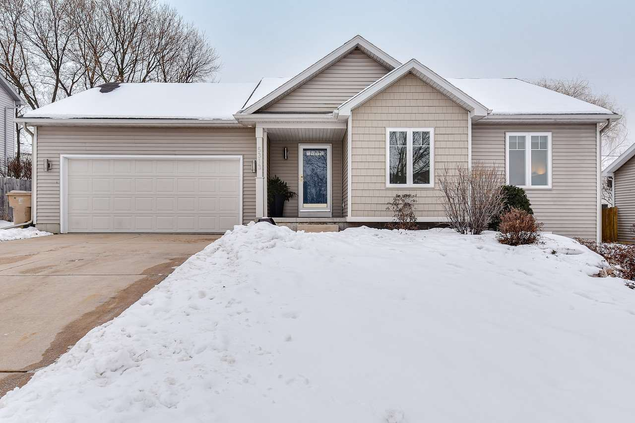 5313 VALLEY EDGE DR, Madison, WI 53704 - MLS#: 1900821