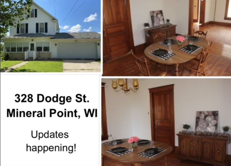 328 Dodge St, Mineral Point, WI 53565 - #: 1884843