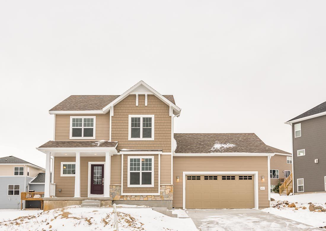451 Blackburn Bay Dr, Verona, WI 53593 - #: 1860852