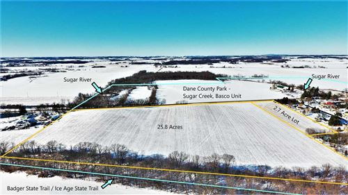 Photo of 25.8 Acres Hwy 69, Belleville, WI 53508 (MLS # 1900947)