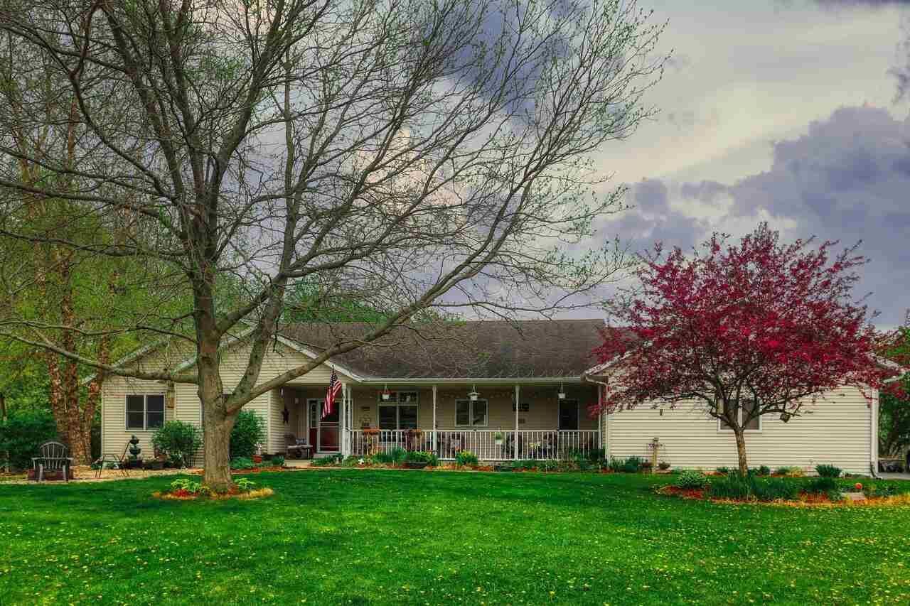 13065 W Woodworth, Evansville, WI 53536 - #: 1907993