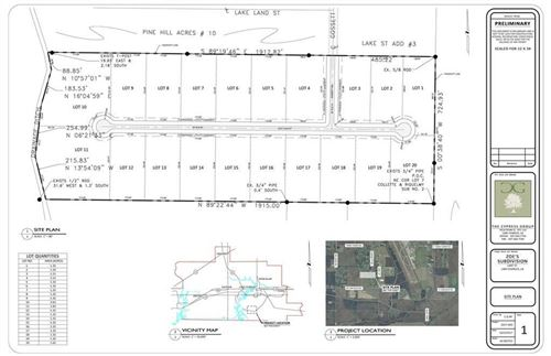 Photo of Lot 4 Zoe's Court, Lake Charles, LA 70605 (MLS # 185958)