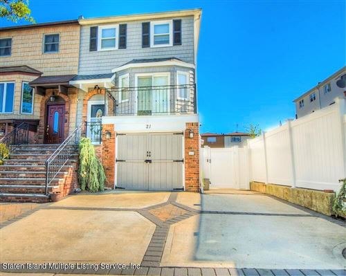 Photo of 21 Gauldy Avenue, Staten Island, NY 10314 (MLS # 1146135)