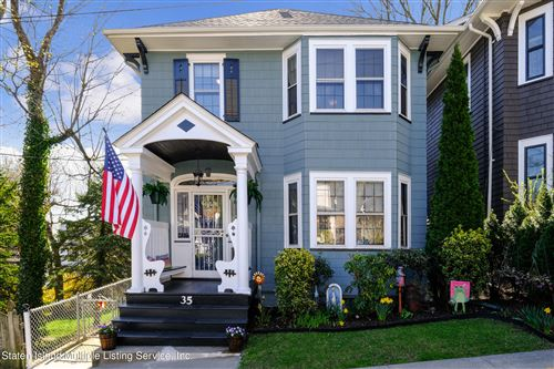 Photo of 35 Marion Avenue, Staten Island, NY 10304 (MLS # 1145256)