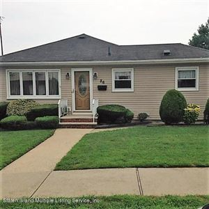 Photo of 86 St Stephens Place, Staten Island, NY 10306 (MLS # 1131458)