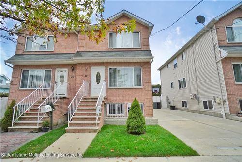 Photo of 28 Isernia Avenue, Staten Island, NY 10306 (MLS # 1149980)