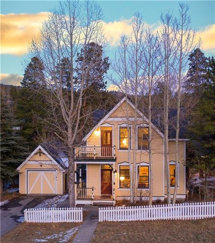 Photo of 312 N French Street, BRECKENRIDGE, CO 80424 (MLS # S1023104)