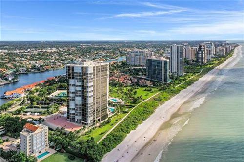 Photo of 4951 Gulf Shore BLVD N #301, NAPLES, FL 34103 (MLS # 220073605)