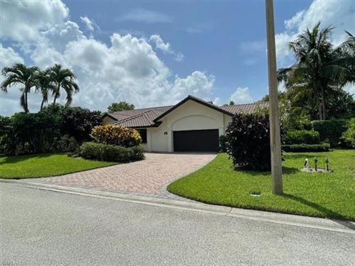 Photo of 803 Bentwood DR, NAPLES, FL 34108 (MLS # 221049904)