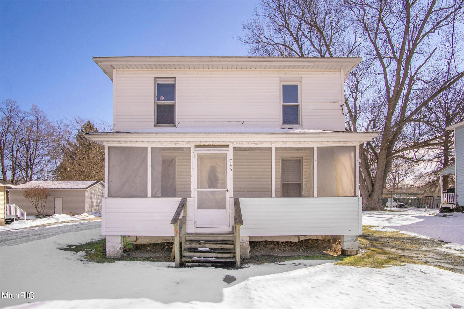 7431 S Maple Street, Eau Claire, MI 49111 - MLS#: 21006025
