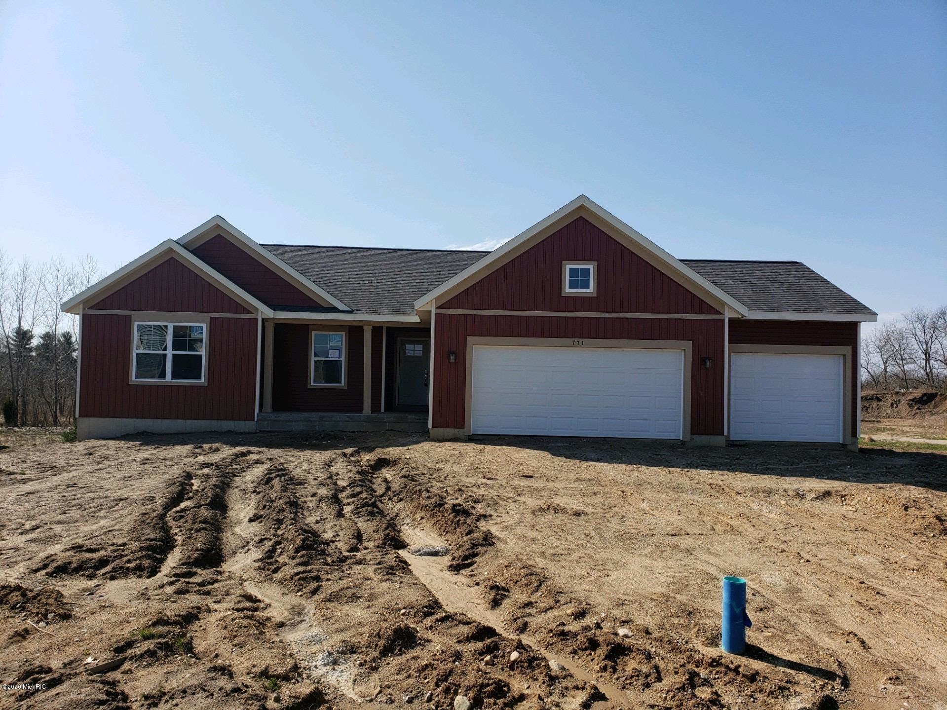 771 Sierra Court, Middleville, MI 49333 - MLS#: 19056156