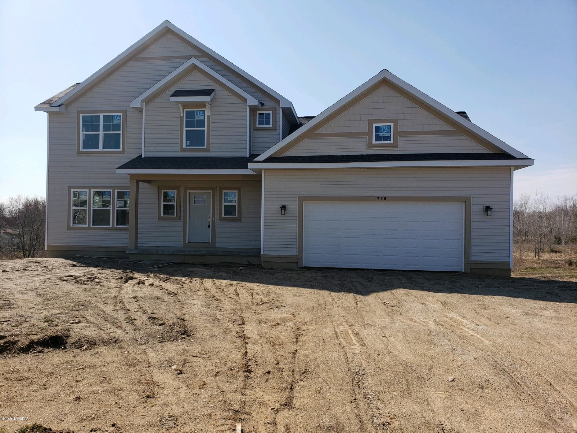 729 Sierra Court, Middleville, MI 49333 - MLS#: 19056161