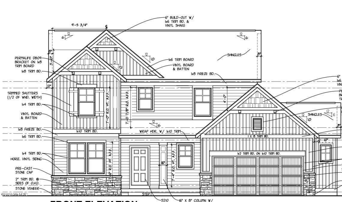 1385 Remington Drive SE, Lowell, MI 49331 - MLS#: 20031190