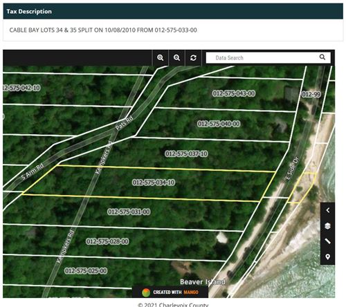 Photo of TBD East Side Drive #Cable Bay Lot 34, Beaver Island, MI 49782 (MLS # 21018220)