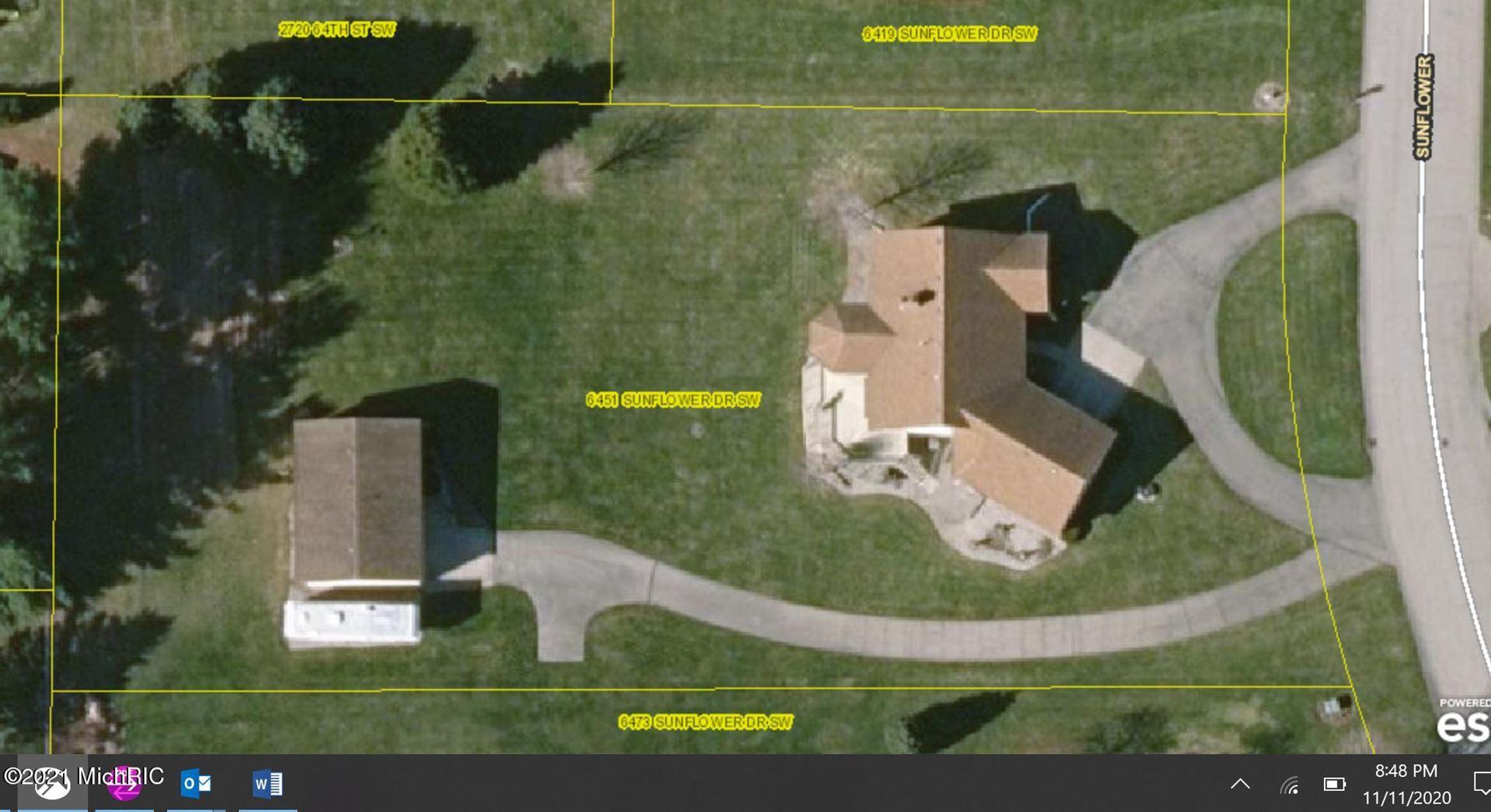 6451 Sunflower Drive SW, Byron Center, MI 49315 - MLS#: 21001327