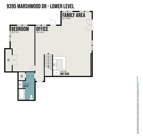 Tiny photo for 9395 Marshwood Drive, Richland, MI 49083 (MLS # 21075350)
