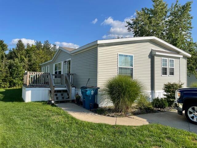 8000 Warren Woods Road #Lot 61, Three Oaks, MI 49128 - MLS#: 21105366