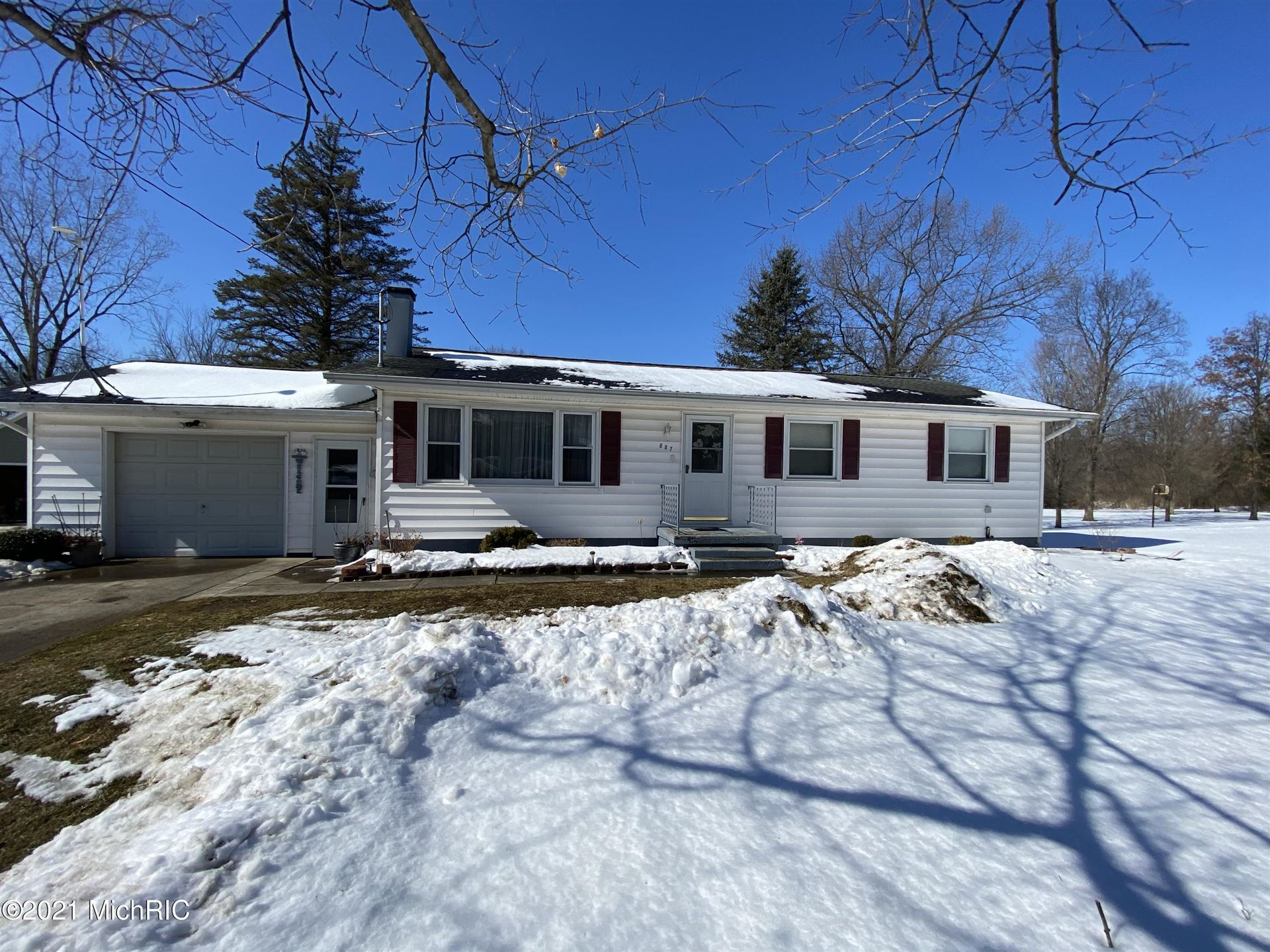 687 Langs Drive, Jonesville, MI 49250 - MLS#: 21005408