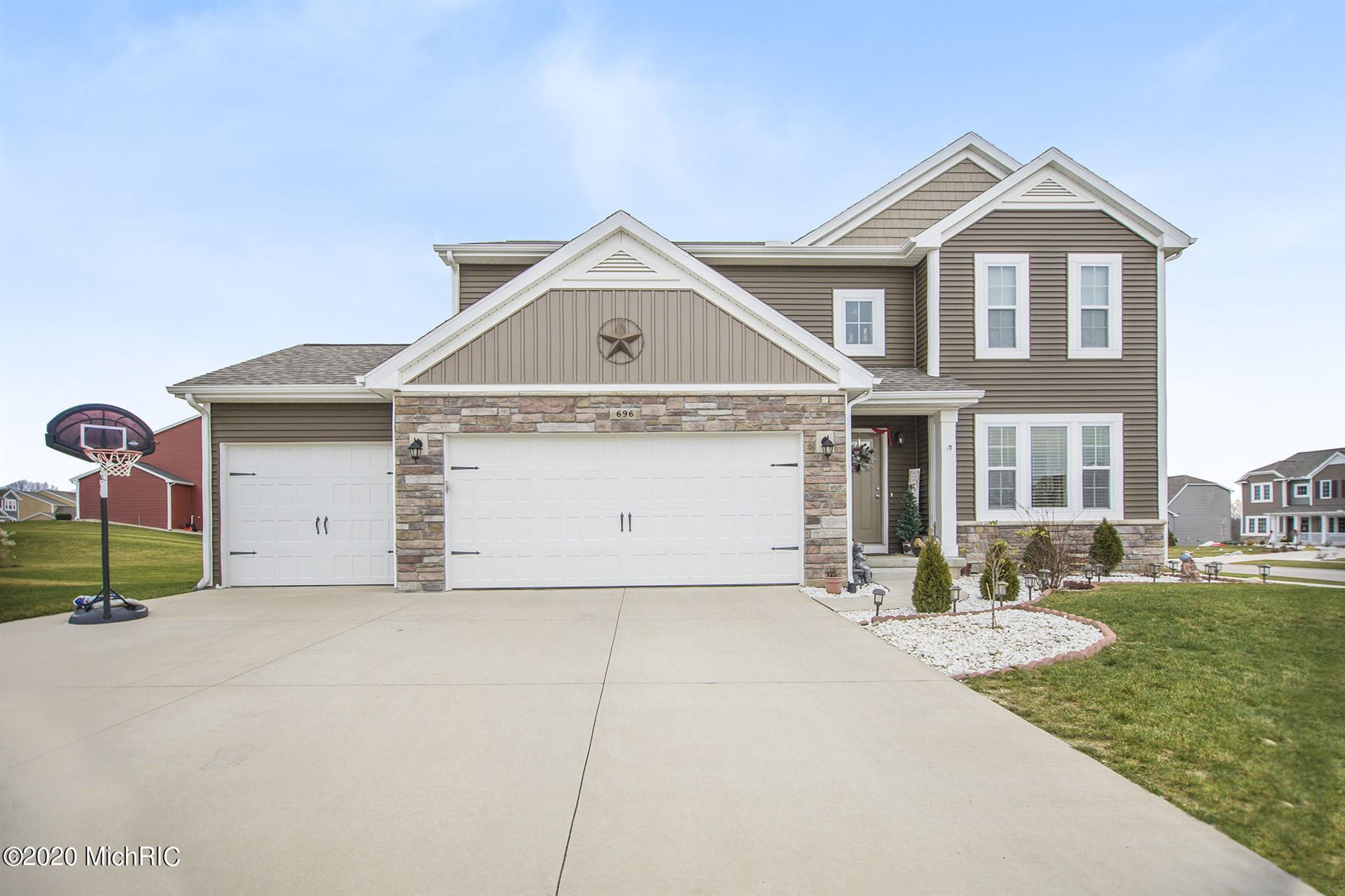 696 Painted Rock Drive, Byron Center, MI 49315 - MLS#: 20050782