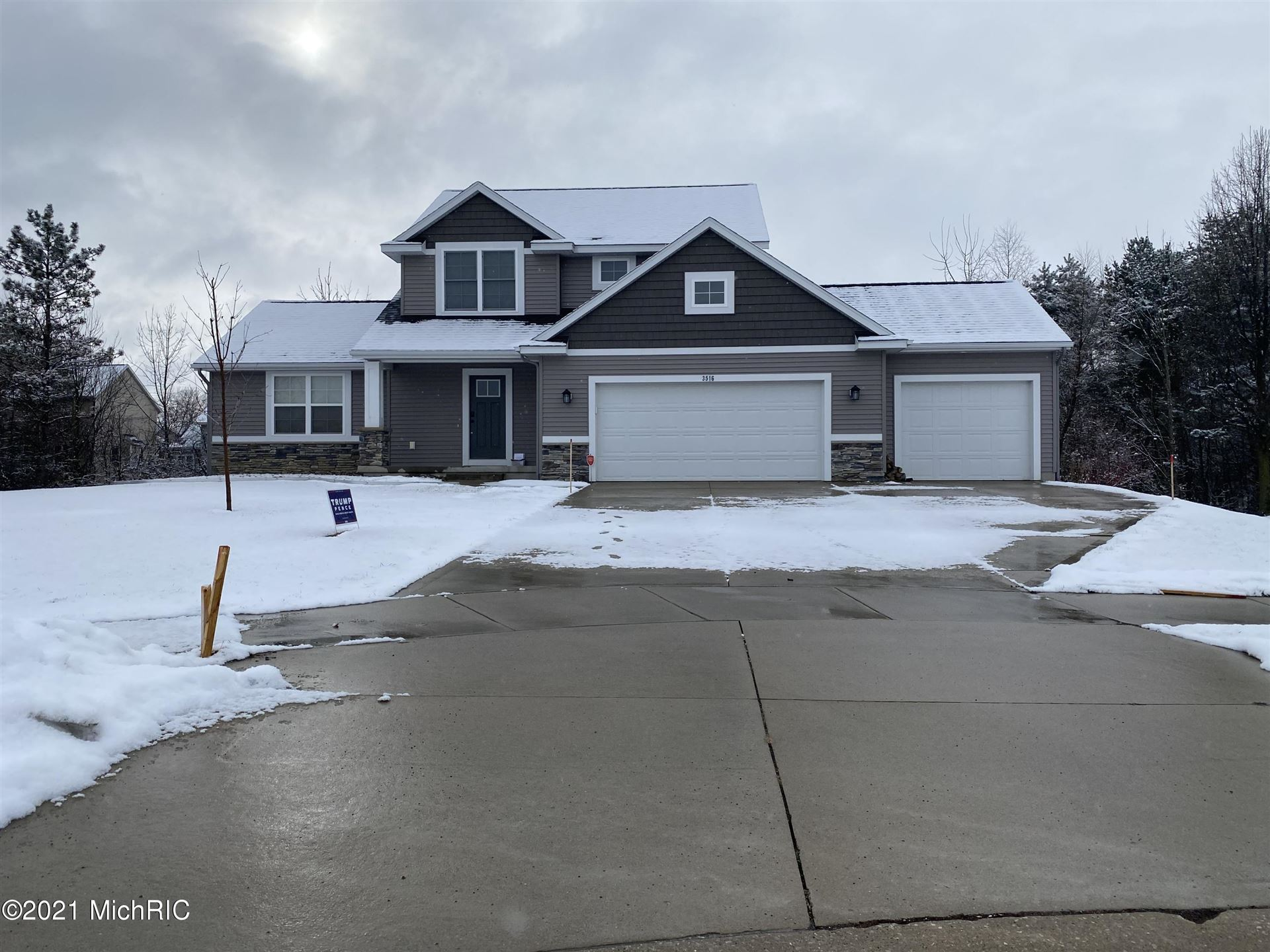 3516 City Ridge Court, Hudsonville, MI 49426 - MLS#: 21001786
