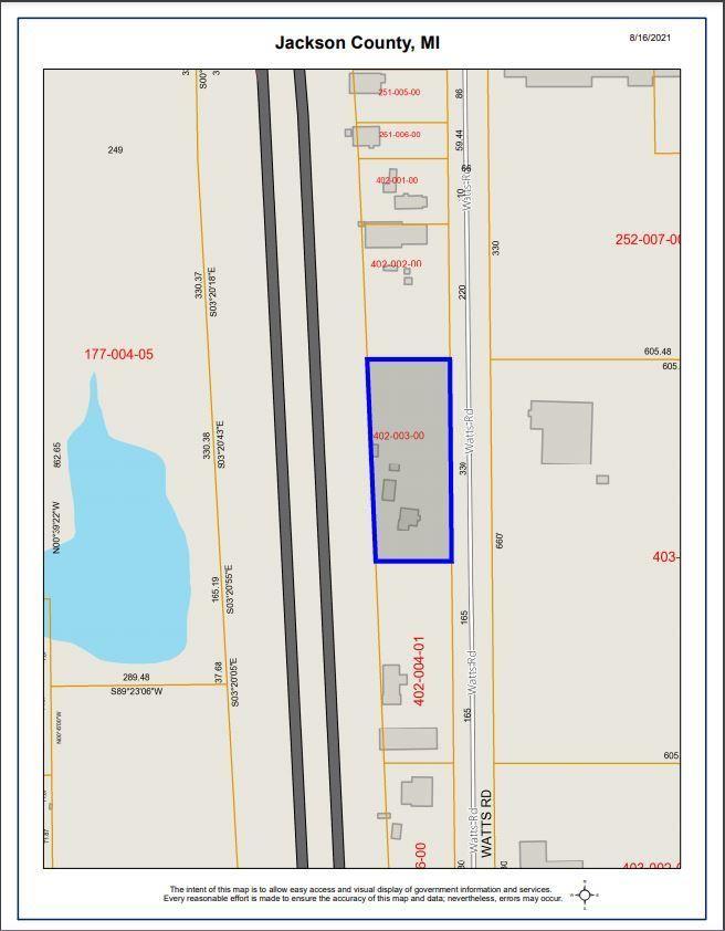 330 Watts Road, Jackson, MI 49203 - MLS#: 21101797