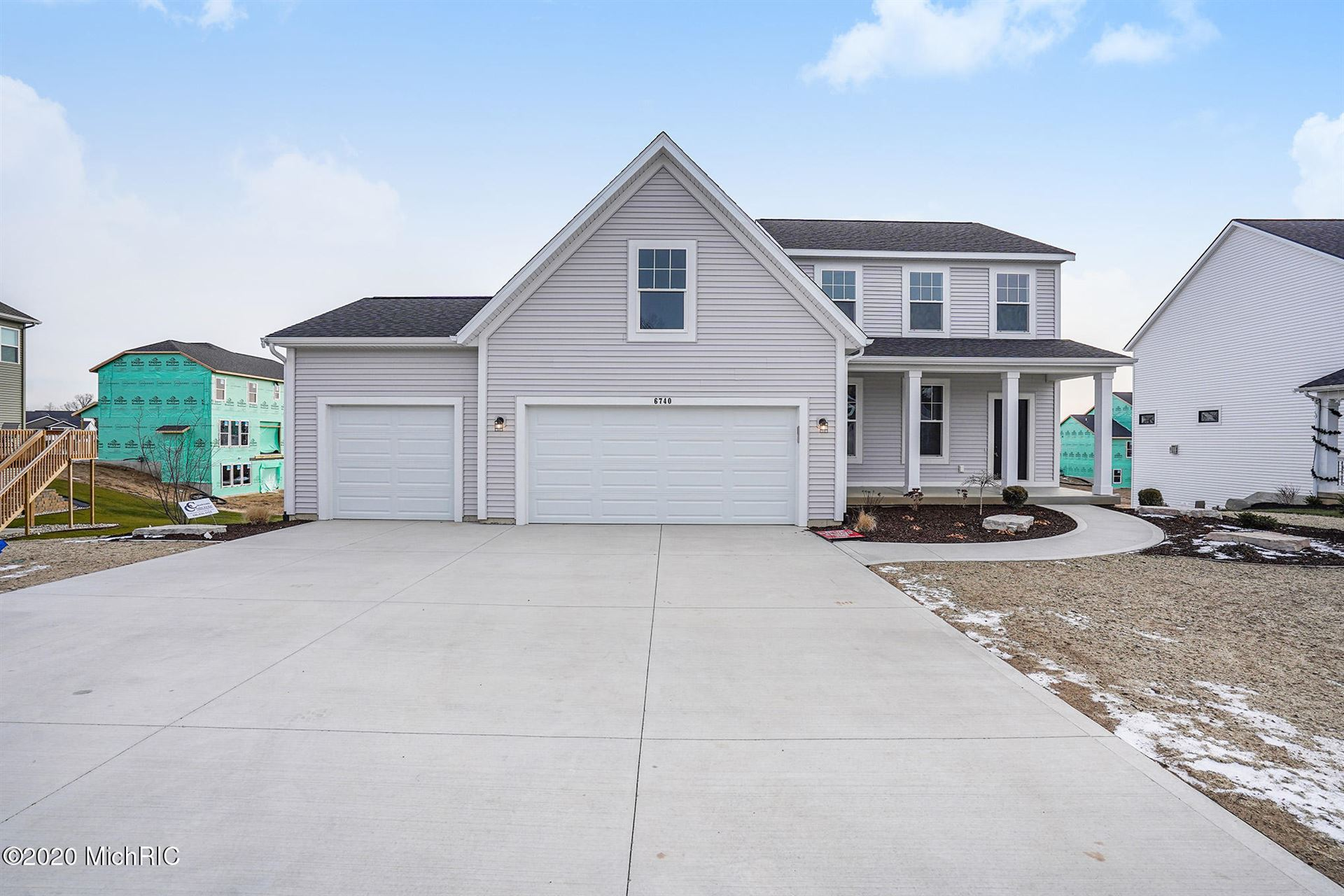 6740 Alward Drive, Hudsonville, MI 49426 - MLS#: 20038951