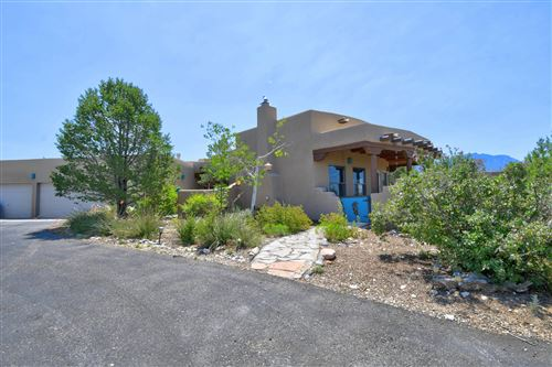 Photo of 207 CAMINO DE LAS HUERTAS, Placitas, NM 87043 (MLS # 973004)