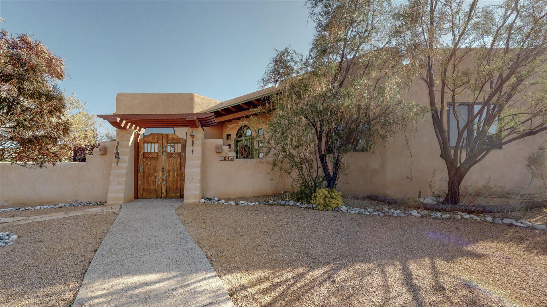 Photo of 4 Calle Cienega Court, Placitas, NM 87043 (MLS # 978009)