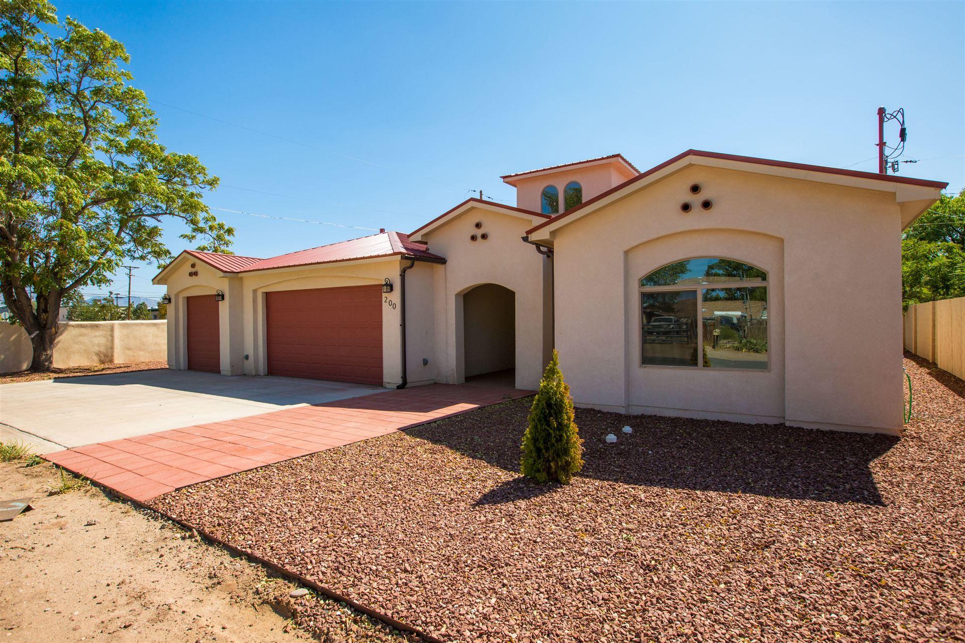 Photo of 200 PUEBLO SOLANO Road NW, Albuquerque, NM 87107 (MLS # 978016)