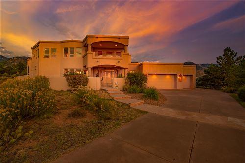 Photo of 13504 DESERT ZINNIA Court NE, Albuquerque, NM 87111 (MLS # 977050)