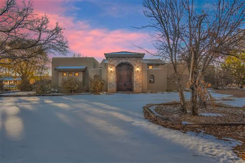 Photo of 7027 Corrales Road, Corrales, NM 87048 (MLS # 982064)