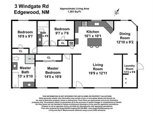 Tiny photo for 3 Windgate Road, Edgewood, NM 87015 (MLS # 997064)