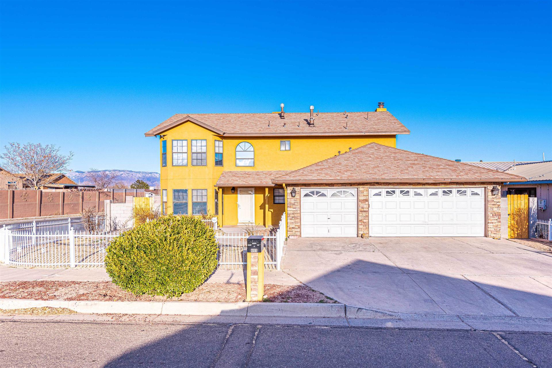 800 SUNRISE Drive SW, Albuquerque, NM 87121 - MLS#: 987076