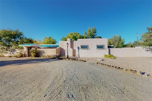 Photo of 4100 DIETZ Court NW, Los Ranchos, NM 87107 (MLS # 1003134)