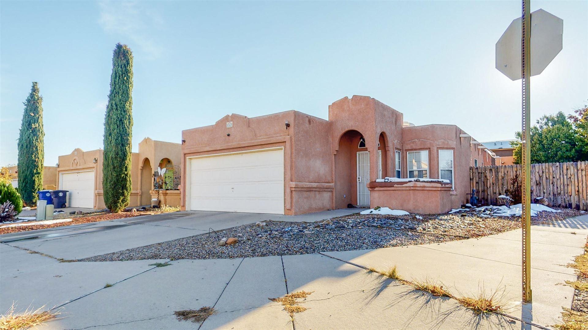 Photo of 5317 VALENTINO Street NW, Albuquerque, NM 87120 (MLS # 980138)