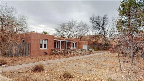 Photo of 716 PUEBLO SOLANO Road NW, Los Ranchos, NM 87107 (MLS # 984149)