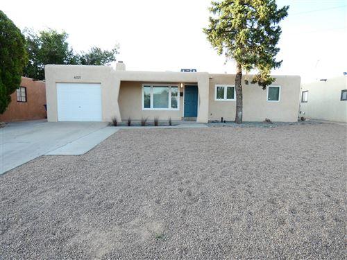 Photo of 6021 Zimmerman Avenue NE, Albuquerque, NM 87110 (MLS # 993188)