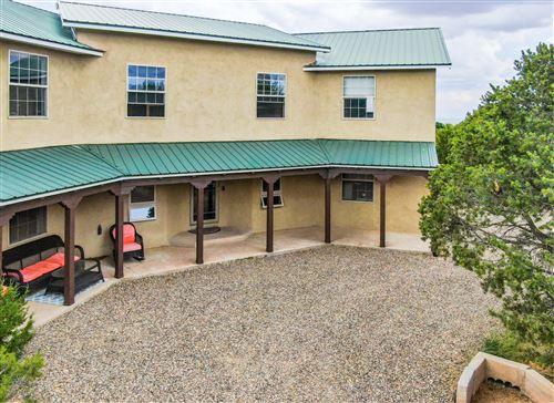 Tiny photo for 22 Sandia Mountain Ranch Drive, Tijeras, NM 87059 (MLS # 989265)