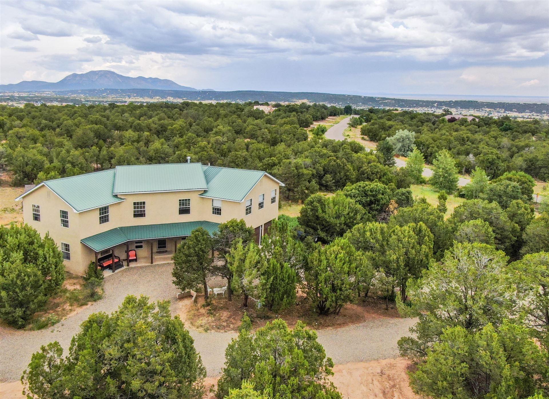 Photo for 22 Sandia Mountain Ranch Drive, Tijeras, NM 87059 (MLS # 989265)